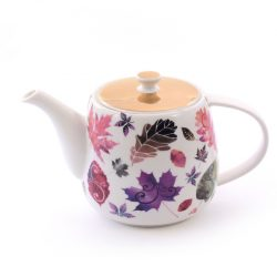 new bone china teapot maple