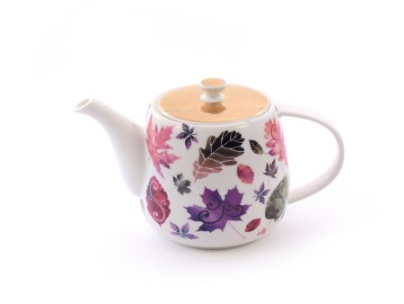 new bone china teapot maple