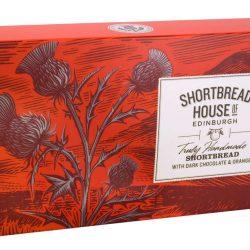 shortbread fingers chocolate orange