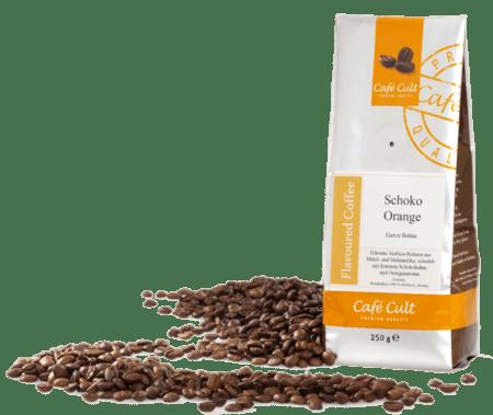 chocolate orange flavoured coffee