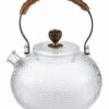 glass teapot oriental