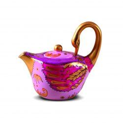 animal teapot swan
