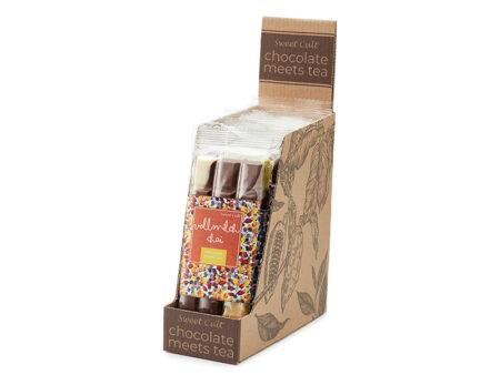 chocolate with tea