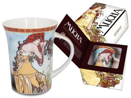 alphonse mucha mug summer