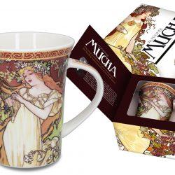 alphonse mucha mug spring