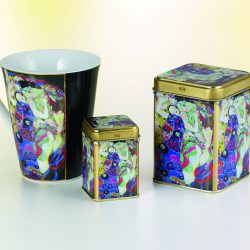 "Tea Caddy Klimt ""Virgin"""