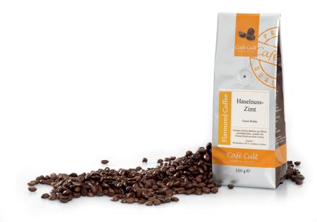 Hazelnut Cinnamon coffee