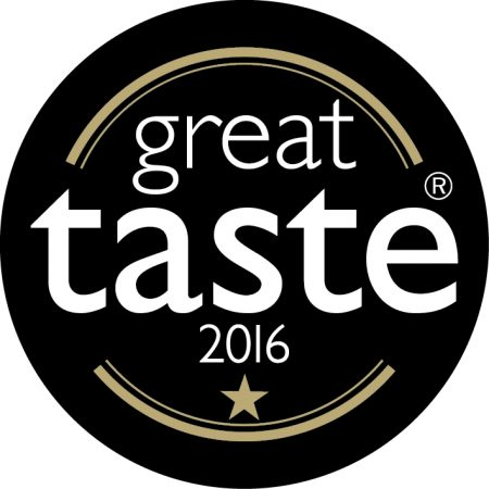 Rhubarb Custard Great Taste Award 2016