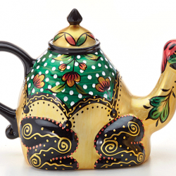 animal teapot Kemal the Camel