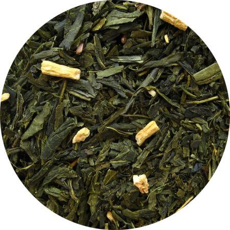 Apricot Ginseng Green Tea-0