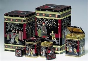 chinese black tea caddy