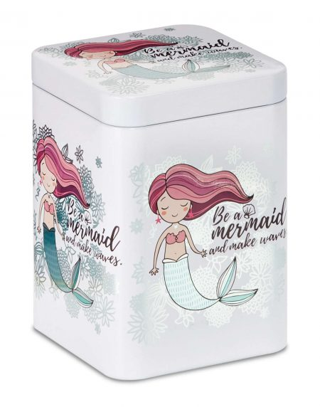 tea caddy mermaid