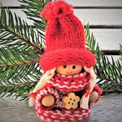 tea and knitting christmas edition