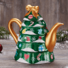 tea pot christmas tree
