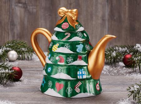 tea pot christmas tree