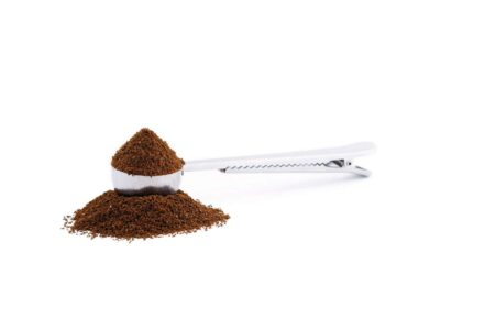 coffee measure spoon with clip