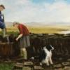 cutting the peat© Margaret Maclean