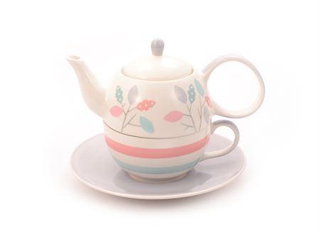 Dahlia tea for one set