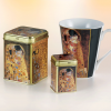"Tea Caddy Klimt ""Kiss"""