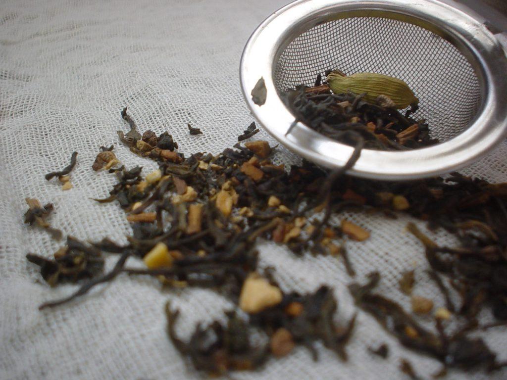 prepare loose tea