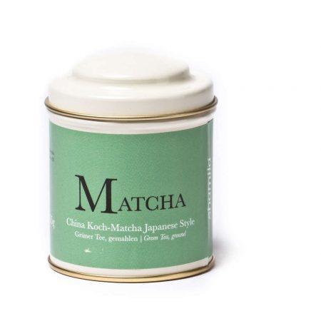 cooking matcha