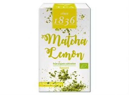 organic matcha lemon