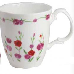 Mug with flowers Rosalie