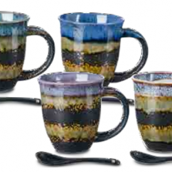 mug with spoon tanaka