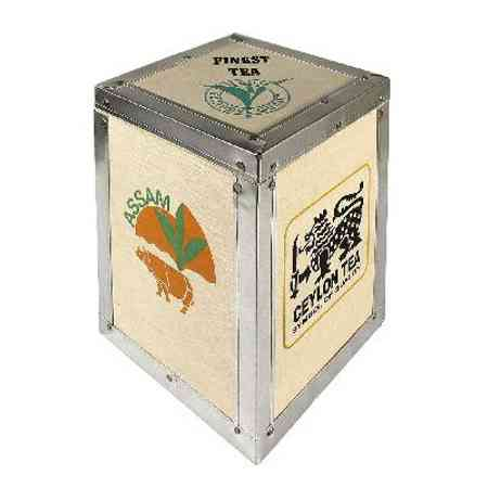 tea chest wood