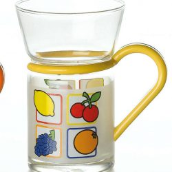 tea glass fruit