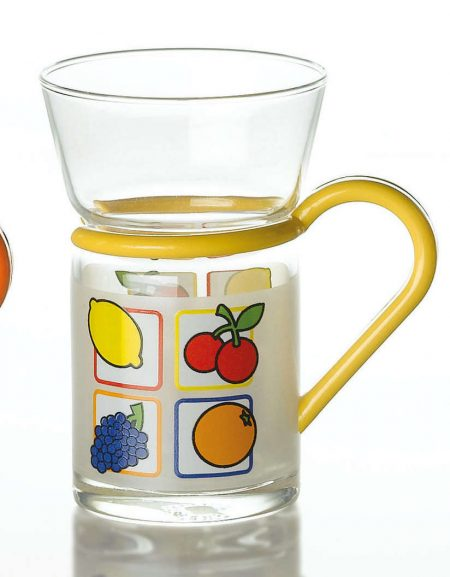 tea glass fruit