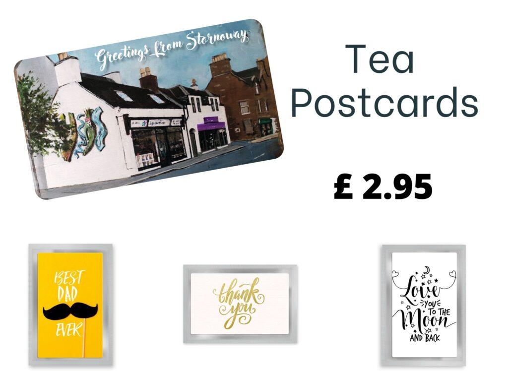tea postcards
