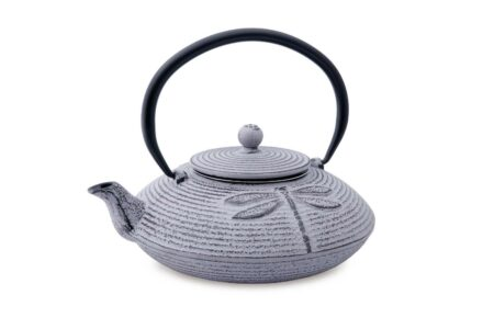 teapot dragonfly cast iron