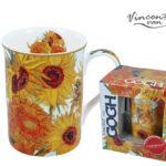 vincent van gogh sunflowers mug